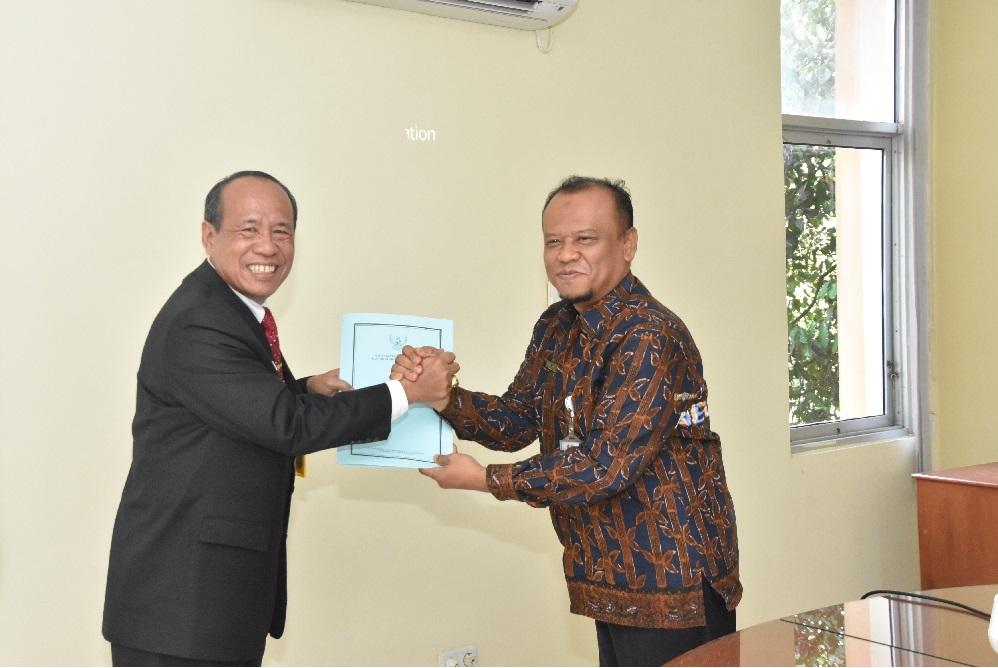 Kunjungan Jajaran rektorat UPGRI Palembang Ke Kantor Badan Kepegawaian Negara (BKN) Regional VII Palembang