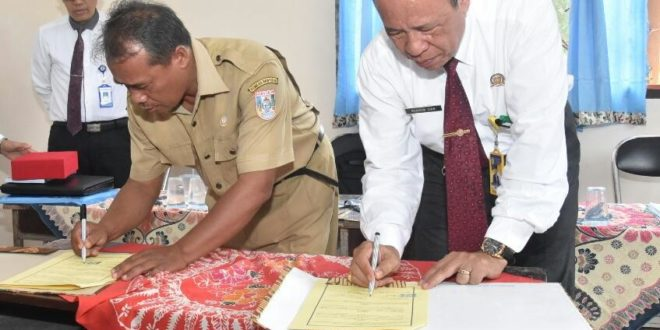 Rektor Universitas PGRI Palembang Gelar Sosialisasi dan Teken MoU Dengan Korwil Disdikporapar Tungkal Ilir