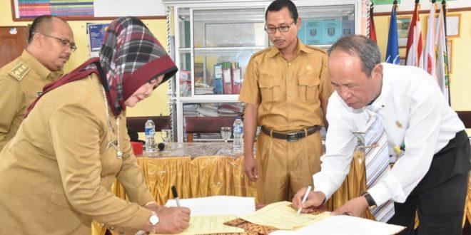 Universitas PGRI Palembang Jalin Kerja Sama SMAN 2 Sembawa dan MKKS SMA Banyuasin