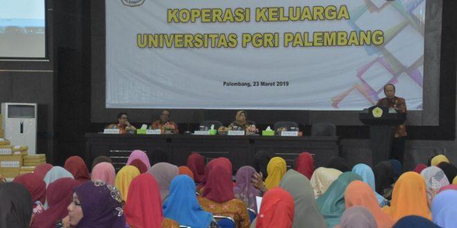 Koperasi Keluarga Universitas PGRI Palembang Gelar Rapat Anggota Tahunan XIII