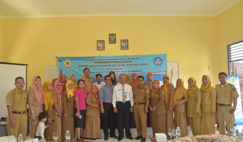 Universitas PGRI Palembang Jalin Kerja Sama Dengan SMAN 1 Pedamaran OKI