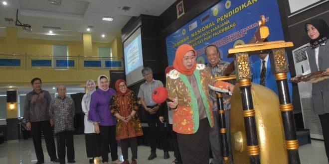 Pascasarjana Universitas PGRI Palembang Gelar Seminar Nasional Pendidikan