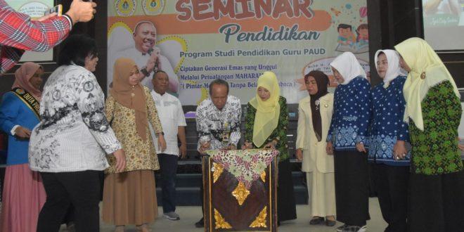 Universitas PGRI Palembang Jalin Kerja Sama Dengan IGTK dan IGRA Provinsi Sumsel