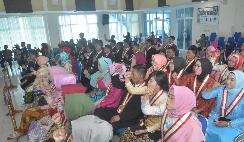 FKIP Universitas PGRI Palembang Yudisium dan Lantik Sarjana Pendidikan Baru