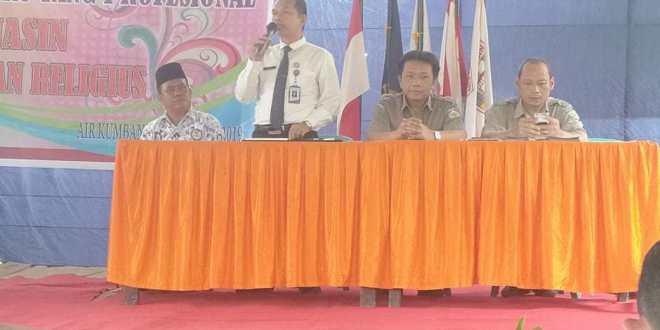 Universitas PGRI Palembang Gelar Sosialisasi PMB di Kecamatan Air Kumbang Banyuasin