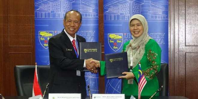 Teken MoU, Universitas PGRI Palembang dan University of Malaya Sepakat Kerja Sama di Berbagai Bidang