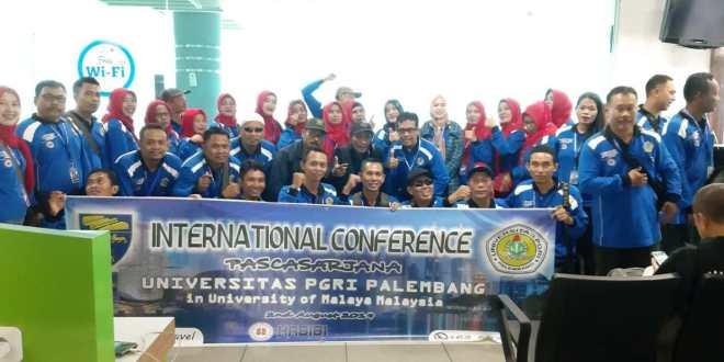 186 Mahasiswa dan Dosen PPs Universitas PGRI Palembang Ikuti Program International Study and Conference di Kuala Lumpur, Malaysia
