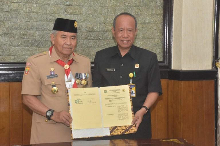 MoU Ditandatangani, Universitas PGRI Palembang dan Pemkab OKU Resmi Jalin Kerja Sama