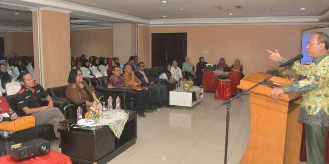LPD Universitas PGRI Palembang Gelar Pendidikan dan Pelatihan Penguatan Kepsek se-Kabupaten OKU