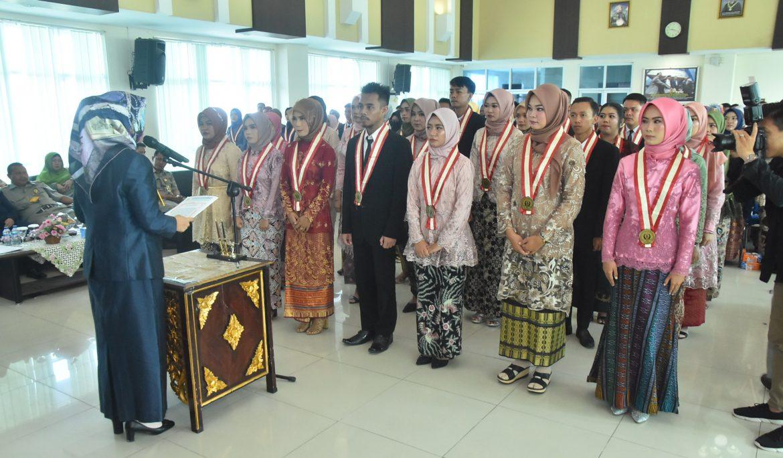 26 Mahasiswa FKIP Universitas PGRI Palembang Raih Predikat Dengan Pujian