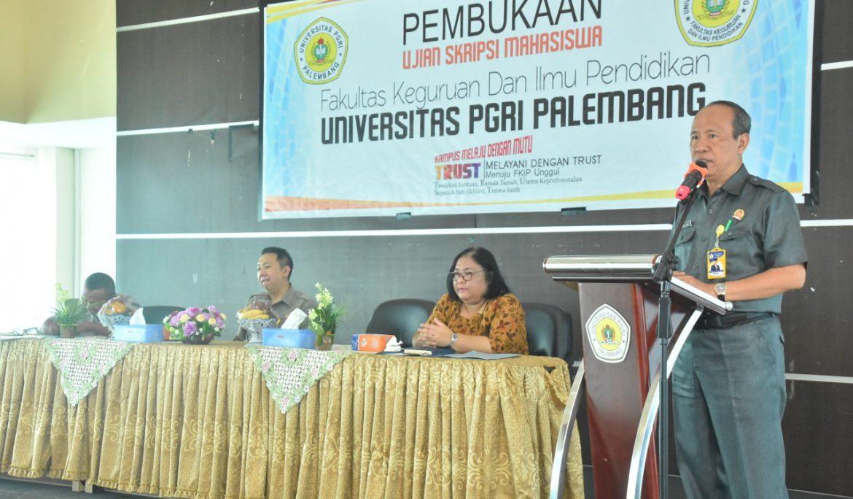 Cegah Plagiat dan Tingkatkan Mutu Skripsi Mahasiswa, Universitas PGRI Palembang Sediakan Fasilitas Turnitin