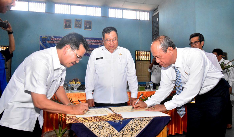 Tingkatkan Mutu SDM, Dinas Pendidikan OKI Jalin Kerja Sama dengan Universitas PGRI Palembang