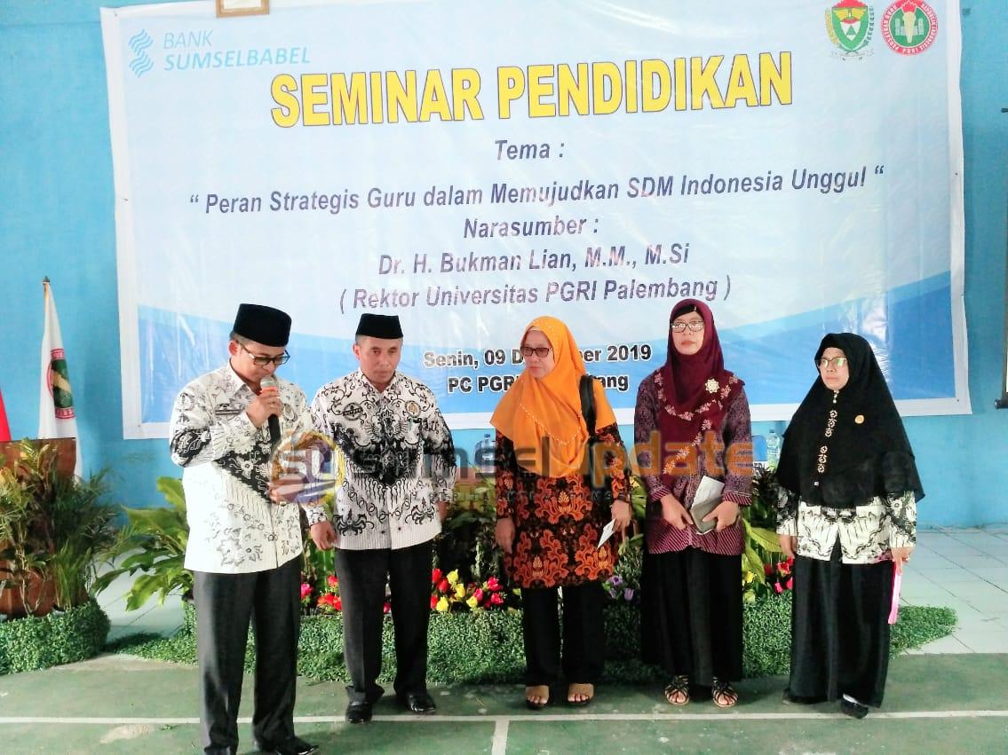 Gelar Seminar Nasional Pendidikan, PGRI Muaraenim Hadirkan Nara Sumber Rektor Universitas PGRI Palembang