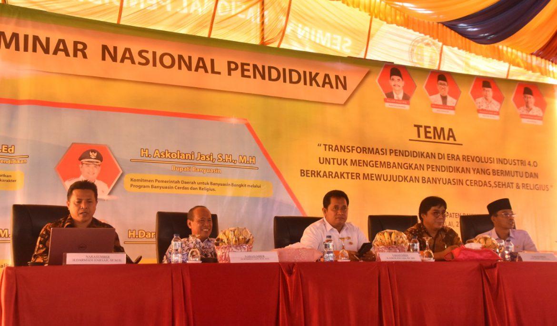 Bupati Banyuasin Dorong Guru Untuk Lanjutkan Kuliah S2 di Universitas PGRI Palembang