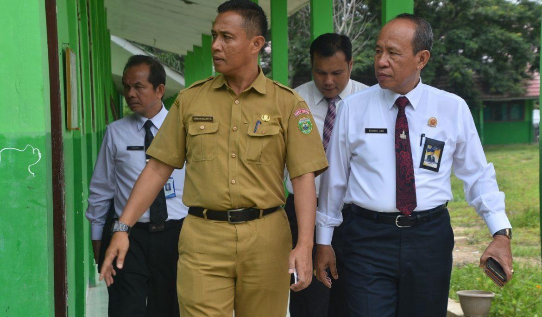 Rektor Universitas PGRI Palembang Silaturahmi dan Kunjungi SMAN 4 Sekayu Muba