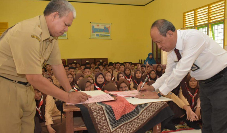 Universitas PGRI Palembang Jalin Kerja Sama dengan SMAN 2 dan SMKN 1 Sungai Lilin, Muba
