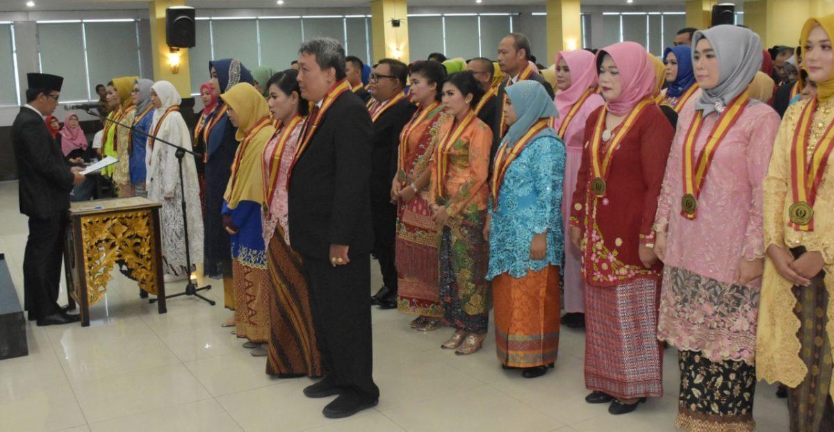 Gelar Yudisium ke-28, Program Pascasarjana Universitas PGRI Palembang Lahirkan 135 Magister Baru