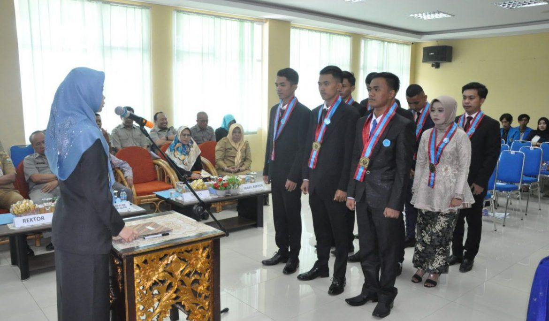 Fakultas Perikanan Universitas PGRI Palembang Yudisium dan Lantik Sarjana Baru