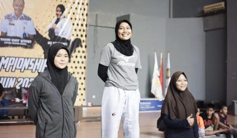 Membanggakan, Mahasiswi Universitas PGRI Palembang Sabet Medali Emas di Mok's Taekwondo Championship South Sumatera