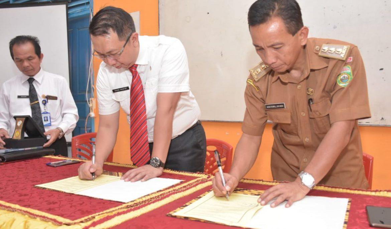 Universitas PGRI Palembang Jalin Kerja Sama dengan SMAN 4 Pagaralam dan SMA Muhammadiyah Pagaralam