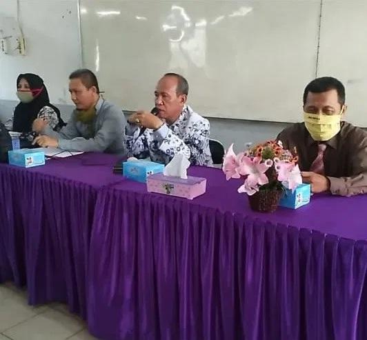 Mahasiswa Prodi Biologi Fakultas MIPA Universitas PGRI Palembang Ikuti Ujian Skripsi