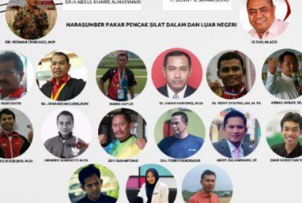 Universitas PGRI Palembang Tuan Rumah Webinar Pencak Silat Road to Olympic