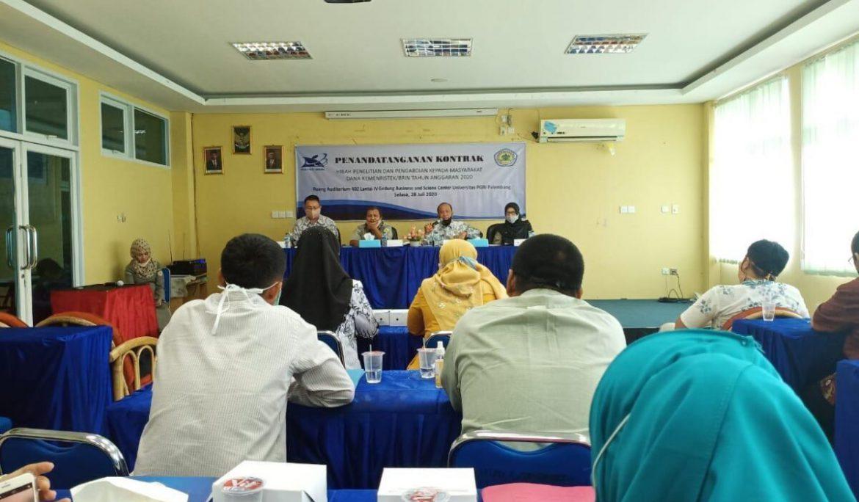 LPPKM Universitas PGRI Palembang Berhasil Dapatkan 27 Proposal Hibah Kemenristek/BRIN
