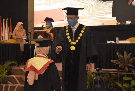Plt Ketua LLDIKTI Wilayah II Puji Universitas PGRI Palembang Kampus dengan Segudang Prestasi