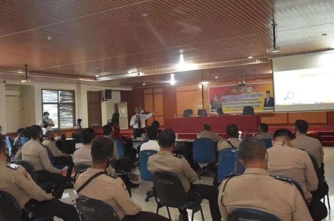Universitas PGRI Palembang dan Polres OKU Selatan Gelar Pelatihan Peningkatan Kompetensi