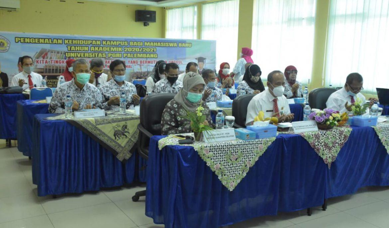 Adaptasi Mahasiswa Baru, Universitas PGRI Palembang Gelar PKKMB Secara Daring