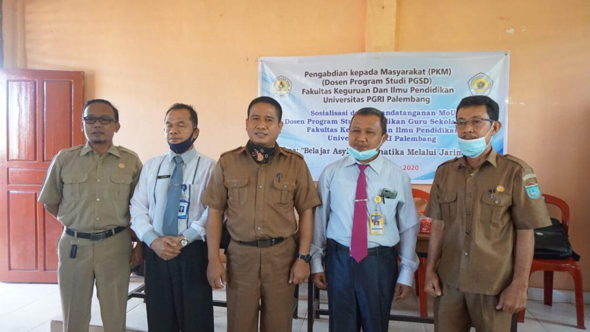 Dosen Prodi PGSD FKIP Universitas PGRI Palembang Gelar Pelatihan Jarimatika Untuk Guru Sekolah Dasar