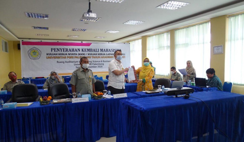 1.484 Mahasiswa Universitas PGRI Palembang Rampung Ikuti KKN/KKL
