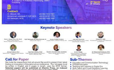 INCoEPP The International Conference On Education Universitas PGRI Palembang
