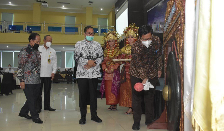 Evaluasi Tahunan, Universitas PGRI Palembang Gelar Rapat Kerja ke-4 Tahun Kerja 2021