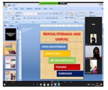 Dosen Fakultas Perikanan dan Kelautan Bersama FKIP Universitas PGRI Palembang Berkolaborasi Gelar PkM