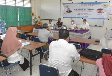Fakultas Saintek Universitas PGRI Palembang Siap Cetak Alumni Handal Dalam Kelola Sumber Daya Alam