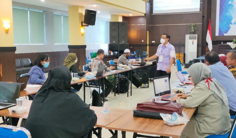 Universitas PGRI Palembang dan LL Dikti Wilayah II Gelar Workshop Pendampingan dan Percepatan Akreditasi Jurnal Terindeks Sinta
