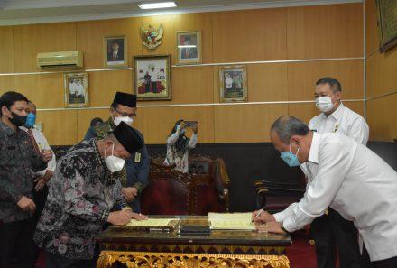 Perkuat Sinergi, Universitas PGRI Palembang dan Kemenag Sumsel Jalin Kerja Sama