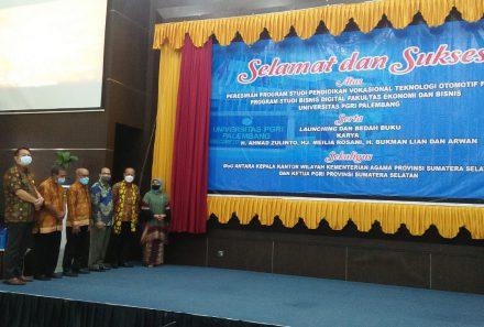 Prodi Pendidikan Vokasional Teknologi Otomotif dan Bisnis Digital Universitas PGRI Palembang Pertama di Sumatera